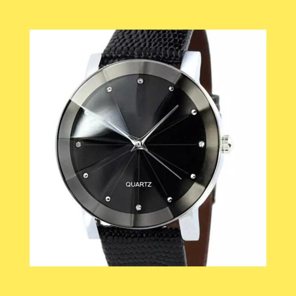 Sandwon from BMC Other - Men's Quartz Luxury Stainless Dial Leather Watch